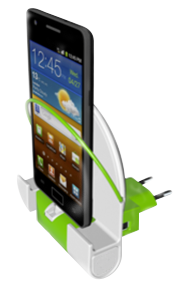 Dock&Charger Europe with phone